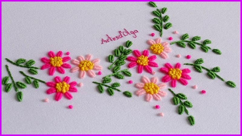 Hand Embroidery Brazilian Embroidery | Bordado a Mano Bordado Brasileño | ArtesdOlga