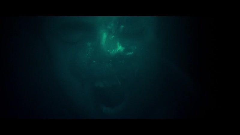 Submerged - breath holding