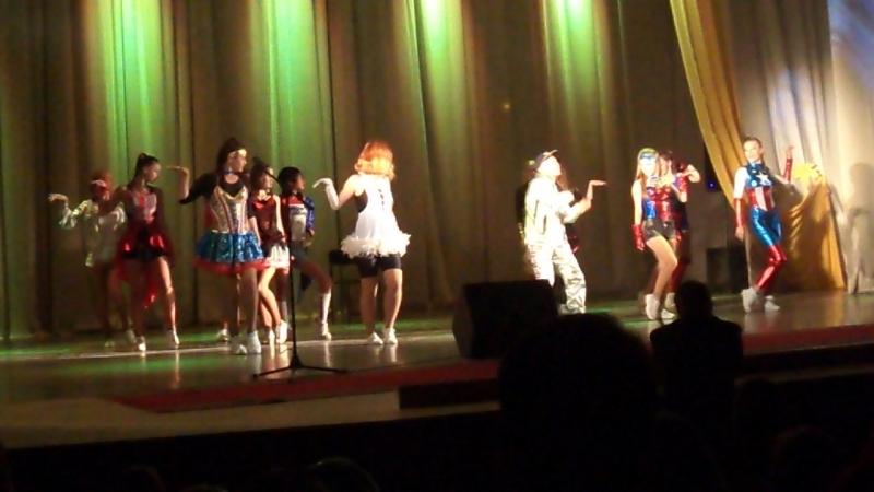 Супергеройские танцы