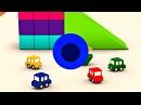 Dessin animé en français dé 4 voitures - Apprendre les couleurs - Bateau
