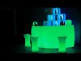 Аренда барной стойки с подсветкой г.Киев BarEvent.com.ua