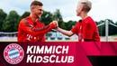 Sportlich, lustig, dickköpfig |Joshua Kimmich im FCB KidsClub-Talk