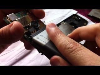 Как разобрать Nokia 6300 и собрать