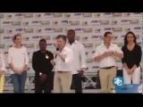 • Президент Колумбии описался прямо во время своего выступления