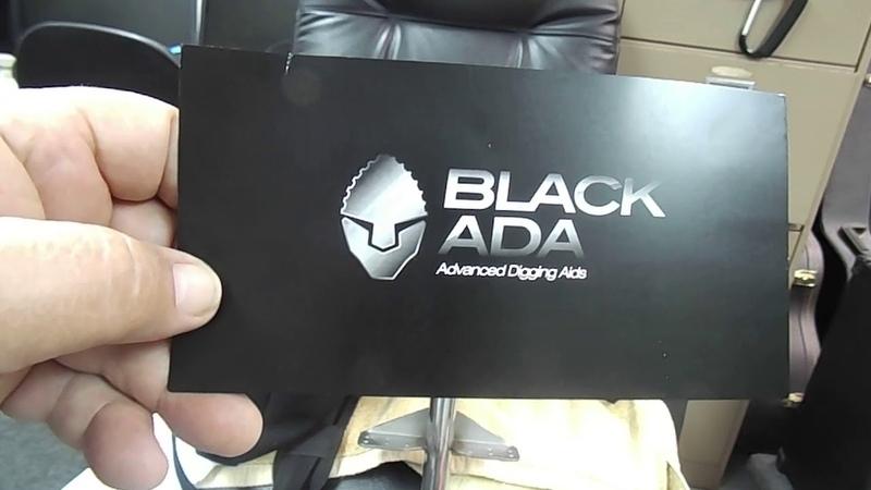 NEW BLACK ADA POLISHED STAINLESS STEEL SHOVEL