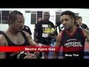 Seminário de Muay Thai com Mestre Ajarn Gae