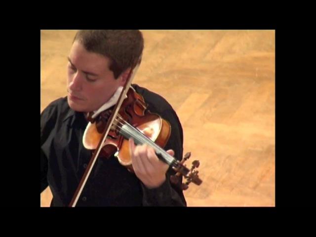 J. S. Bach: Partita for solo violin in E Major, 2nd mov.: Loure (Kristóf Baráti)