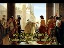 Ave verum Corpus LEGENDADO PT-BR