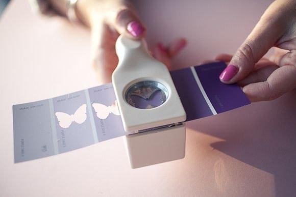 Коробочка с бабочками. Идея для вдохновения....