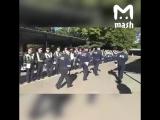 Комбат ДПС в Москве показательно заставил маршировать сотрудников
