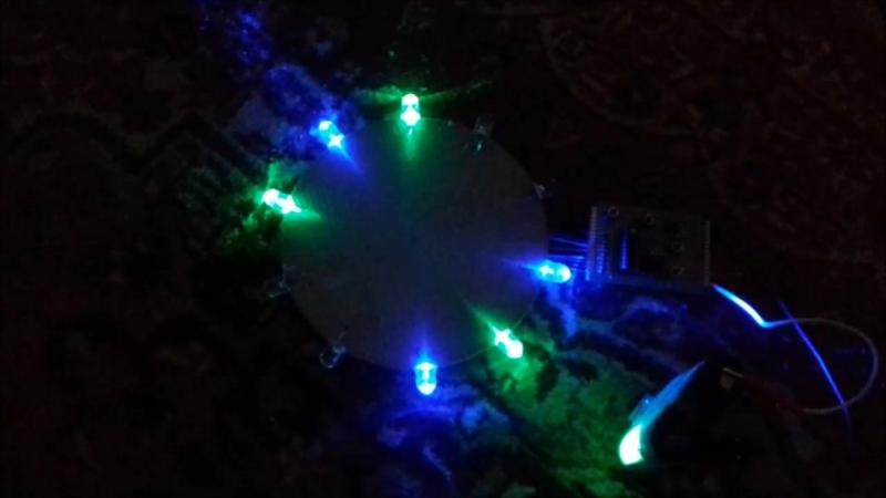 Светошоу на микроконтроллере ATtiny2313