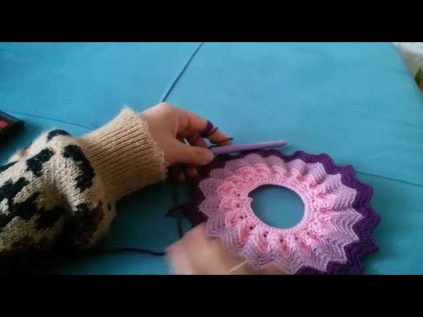 Karnaval bebek zikzak etek yapımı