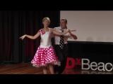 Amputees dancing dream - Adrianne Haslet-Davis & Artsiom Chapialiou - TEDxBeaconStreet