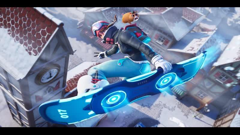 🏂Баг с сноубордом в Fortnite😹