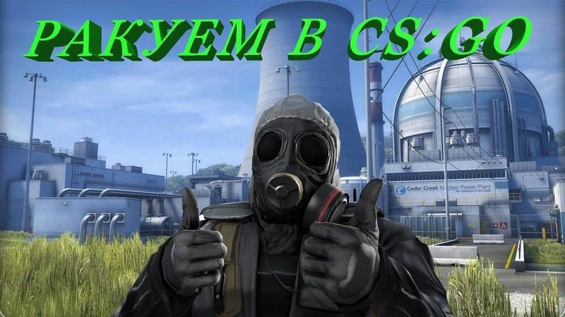 Ракуем в CS:GO. Бомбёжка, ненависть и тащинг.