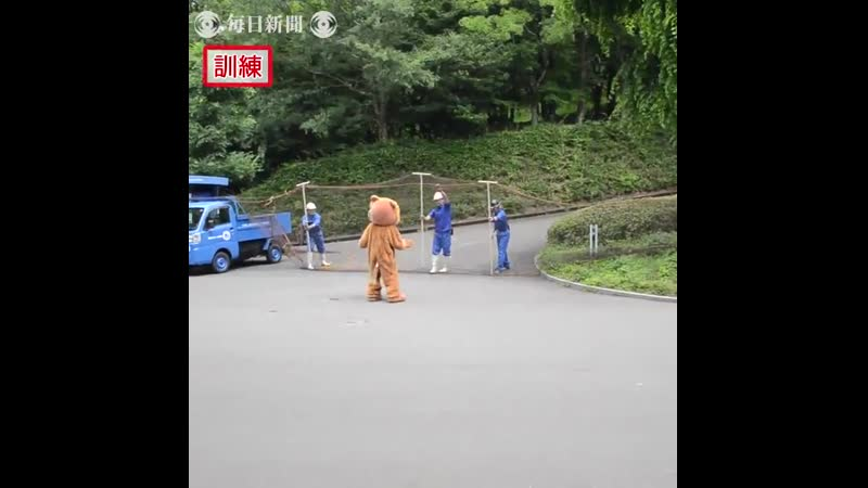 Tobe Zoo in Aichi conducted a lion escape drill today. Note the expression on the actual lions faces.