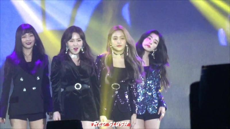 180125 Seoul Music Awards| Red Velevt - Peek-A-Boo [Yeri fancam]