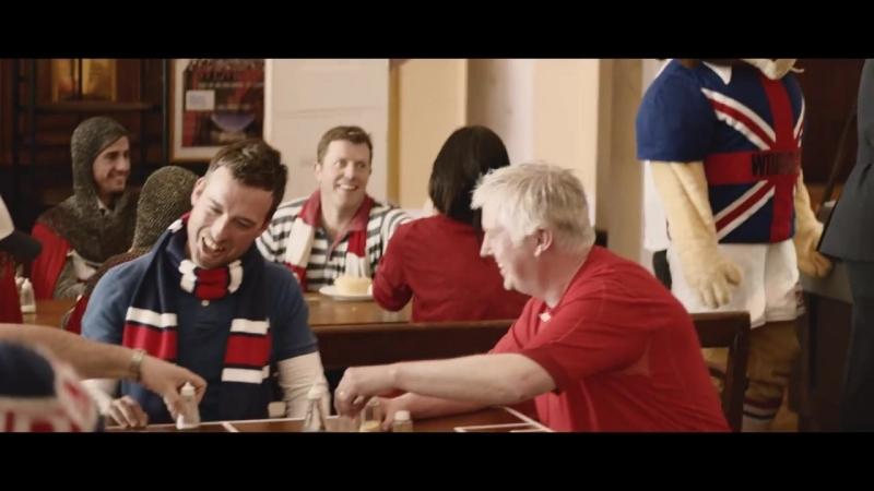 Реклама от Carlsberg. ФанАкадемия.