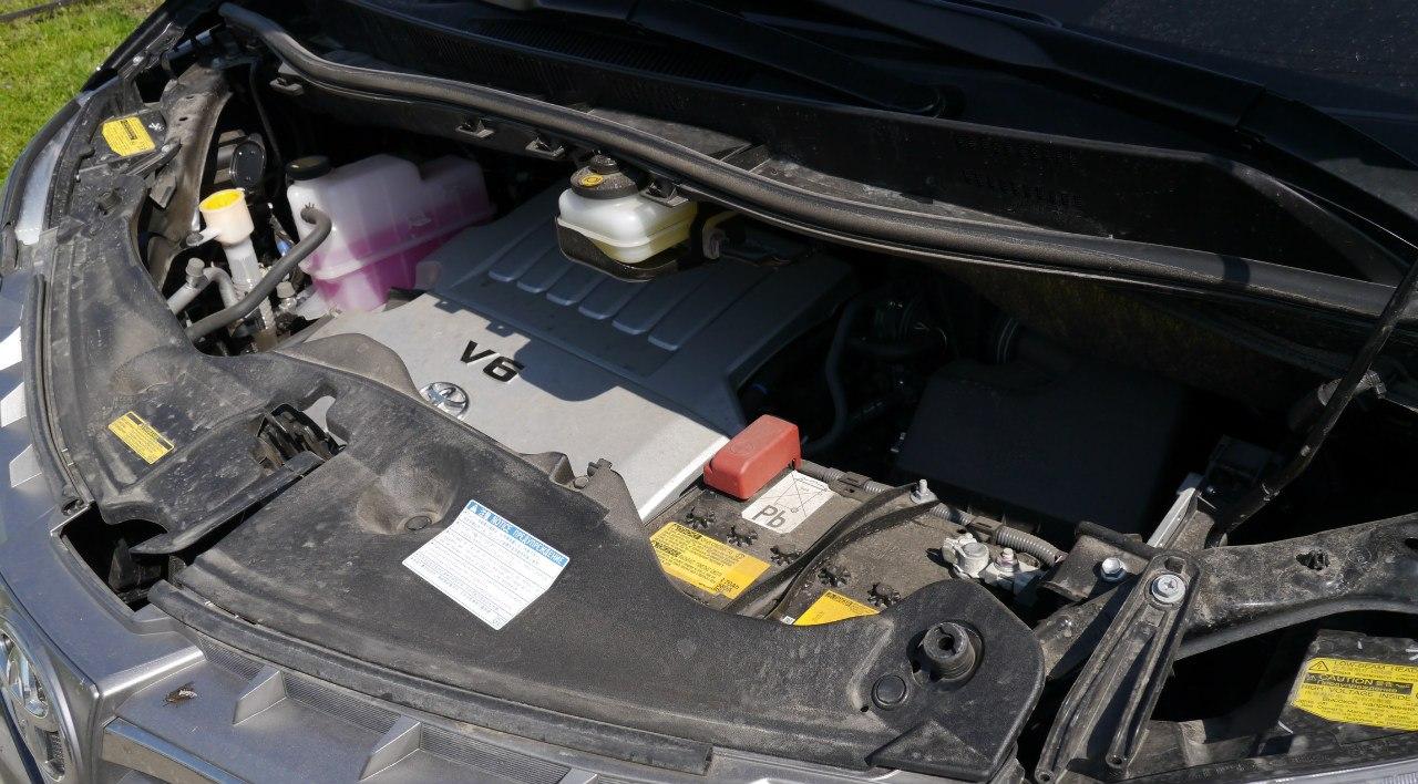 Alphard 2013 двигатель V6