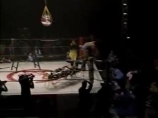 Mayumi Ozaki, KAORU vs. Etsuko Mita, Mima Shimoda (GAEA JAPAN 2001.12.15)