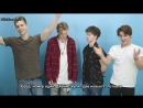 The Vamps Interview - Five Things Rus(sub)