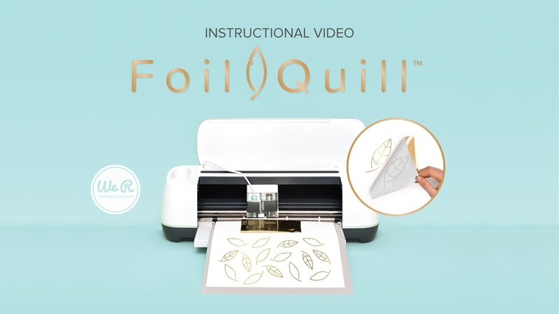 Foil Quill Instructional Video by We R Memory Keepers