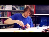 Brickworm - обзоры конструкторов LEGO LEGO 76014 Spider-Trike vs. Electro - Микро Brickworm (Pixel_Devil)