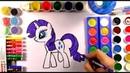 Мой маленький пони РАРИТИ Раскраска- мультик Все серии подряд