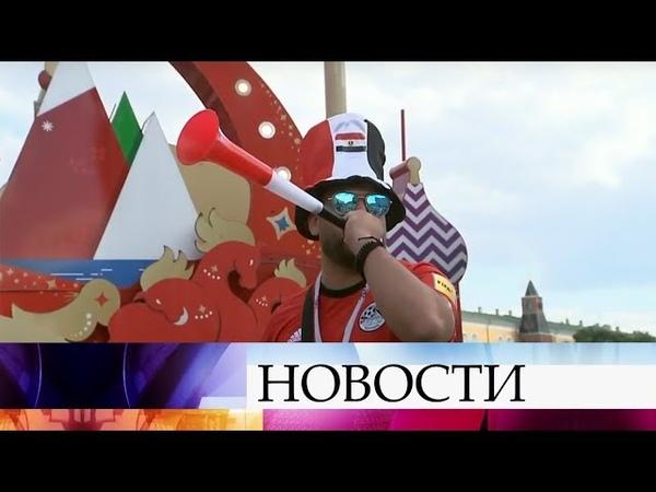 Иностранные болельщики, приехавшие на ЧМ по футболу, отмечают гостеприимство и дружелюбие россиян.