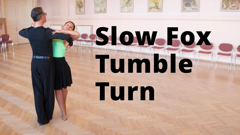 Slow Foxtrot Tumble Turn Intermediate Dance Routine