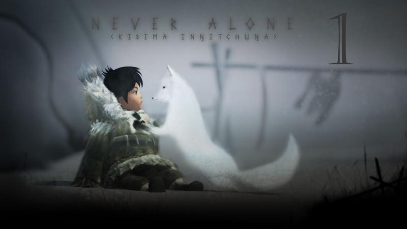 Прохождение Never Alone (Kisima Ingitchuna) 1 - Мистическая метель