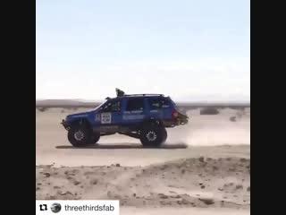 Jeep grand cherokee самый быстрый джип в мире