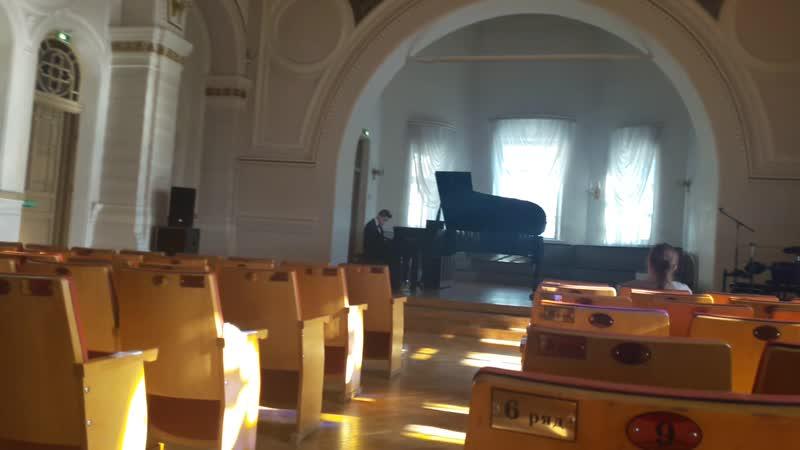 23.02.2019 С. Геллер Этюд, Op. 46
