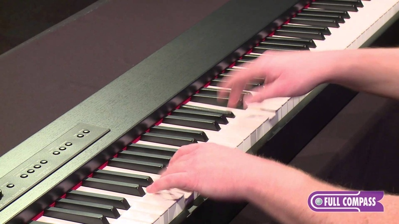 Roland F-20 88-Key Digital Piano Overview | Full Compass