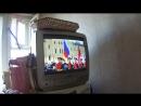 День Победы. С телевизора. 2. Вынос знамени.