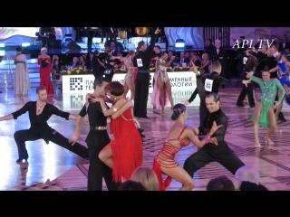 Роман Ковган - Дарья Палей - Румба - API TV DANCE STARS