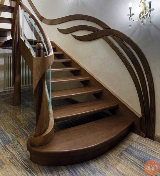 Шикаpная лестница