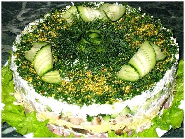 Годика салаты с сыром и творогом