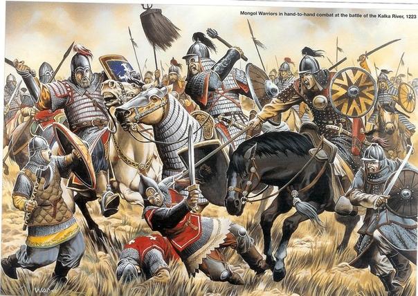 Как монголы на Калке разбили русских князей. 31 мая 1223 г на реке Калке состоялась грандиозная для феодальной Руси битва, в которой коалиция русских князей и их союзников-половцев потерпела