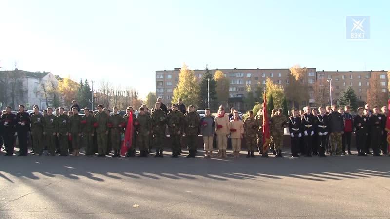 К защите Родины готовы В Воскресенске прошла военно спортивная игра Юнармейские старты