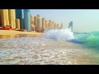 Dubai, Marina Beach - Hotel Le Royal Meridien Beach Resort and Spa - June 2013 - Burj Khalifa Pics