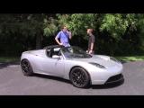 Я водил Tesla Roadster и это было здорово
