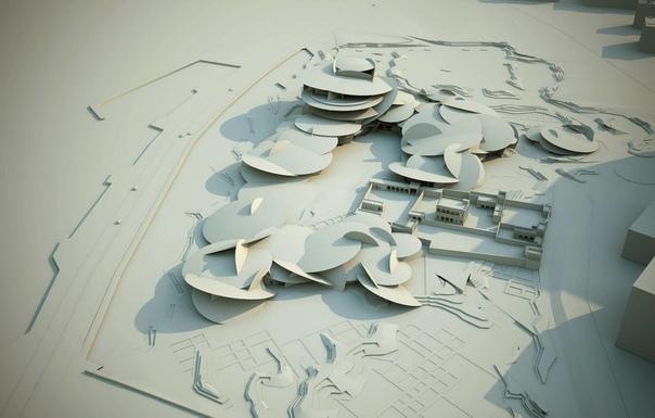 Национальный музей Катара В конце марта в Дохе открылся Национальный музей Катара. Он привлекает туристов не только богатой коллекцией экспонатов, но и удивительным внешним видом: здание