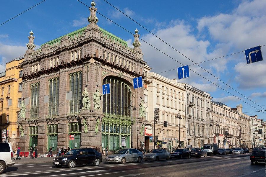 1. Этот фасад знают все))))