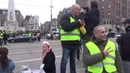 Yellow Vest protest Amsterdam Dam Square the netherlands