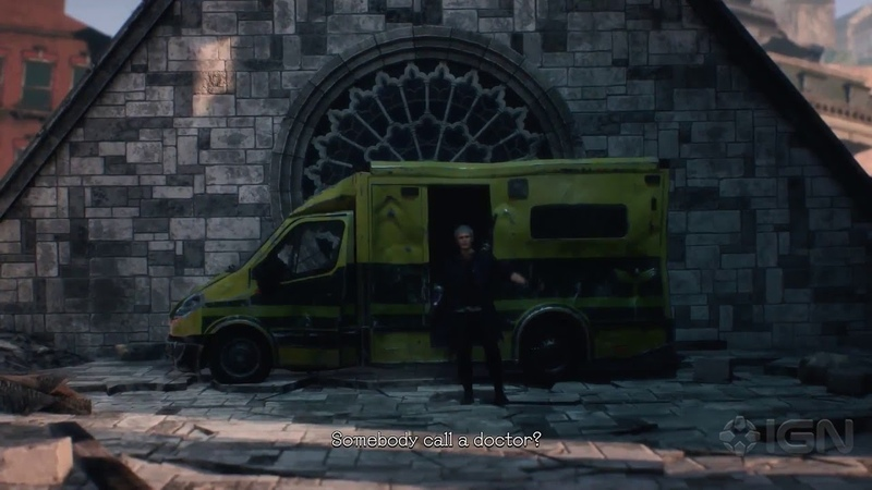 Devil May Cry V – Somebody call a doctor?