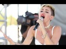 Miley Cyrus - iHeartRadio FULL 10 Minute Performance (We Can't Stop, Wrecking Ball, etc)