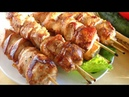 Шашлык из курицы ОЧЕНЬ ВКУСНЫЙ. Маринад для шашлыка из курицы с зеленью, луком и пряностями