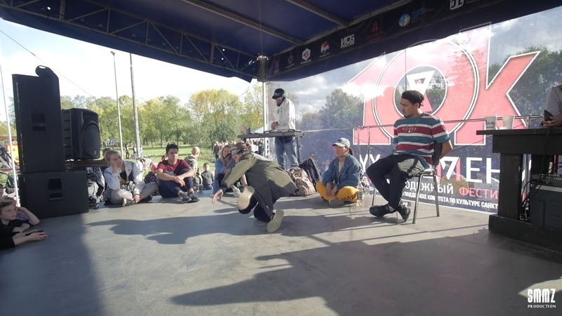 Даня vs Клюква (1/2 FINAL)    HIP-HOP BEG.    10K BATTLE