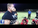 Jay Cutler Visits His Youth Football Team